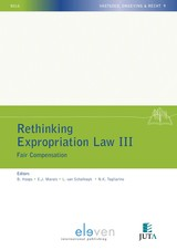 Rethinking Expropriation Law III - ISBN: 9789462749290