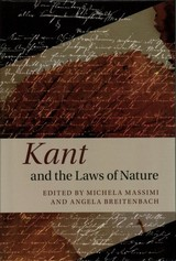 Kant And The Laws Of Nature - Massimi, Michela (EDT)/ Breitenback, Angela (EDT) - ISBN: 9781107120983