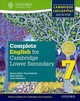 Complete English For Cambridge Lower Secondary 7 - Arredondo, Jane; Jenkins, Alan; Parkinson, Tony - ISBN: 9780198364658