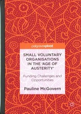 Small Voluntary Organisations In The 'age Of Austerity' - McGovern, Pauline - ISBN: 9781137521866