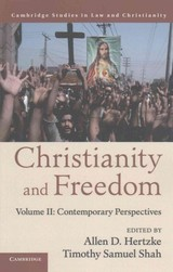 Christianity And Freedom: Volume 2, Contemporary Perspectives - ISBN: 9781107561885