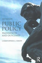 Public Policy - Simon, Christopher A. (university Of Utah, Usa) - ISBN: 9781138202214
