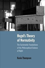 Hegel's Theory Of Normativity - Thompson, Kevin - ISBN: 9780810139923