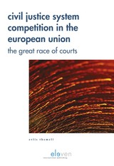 Civil Justice System Competition in the European Union - Erlis  Themeli - ISBN: 9789462748385
