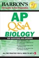 Ap Q&a Biology - Maxwell, David - ISBN: 9781438011202