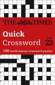 Times Quick Crossword Book 23 - The Times Mind Games; Grimshaw, John - ISBN: 9780008285388