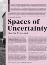 Spaces Of Uncertainty - Berlin Revisited - Cupers, Kenny (EDT)/ Miessen, Markus (EDT) - ISBN: 9783035614398
