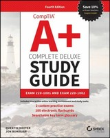 Comptia A+ Complete Deluxe Study Guide - Docter, Quentin - ISBN: 9781119515968