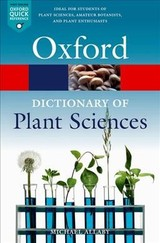 Dictionary Of Plant Sciences - Allaby, Michael - ISBN: 9780198833338