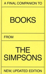A Final Companion To Books From The Simpsons (Updated Version)  - ISBN: 9783906213248