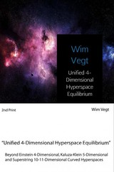 Unified 4-Dimensional Hyperspace Equilibrium - Wim  Vegt - ISBN: 9789402181036
