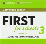 Cambridge English First For Schools 3 Audio Cds - ISBN: 9781108433815