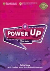Power Up Level 5 Class Audio Cds (4) - Sage, Colin - ISBN: 9781108413589