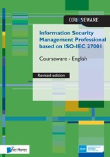 Information Security Management Professional based on ISO/IEC 27001 Courseware â English - Ruben  Zeegers - ISBN: 9789401803670