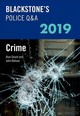Blackstone's Police Q&a 2019 Volume 1: Crime - Watson, John (former Police Inspector And Qualified Police Trainer And Asse... - ISBN: 9780198830634