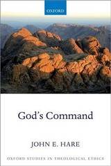 God's Command - Hare, John E. (noah Porter Professor Of Philosophical Theology, Yale University) - ISBN: 9780198829843