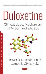 Duloxetine - Olver, James S.; Norman, Trevor, Ph.d - ISBN: 9781536143270
