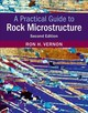 A Practical Guide to Rock Microstructure   - Vernon, Ron H. - ISBN: 9781108427241