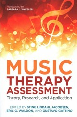 Music Therapy Assessment - Waldon, Eric G. (EDT)/ Jacobsen, Stine Lindahl (EDT)/ Gattino, Gustavo Schulz (EDT)/ Wheeler, Barbara L. (FRW) - ISBN: 9781785922954