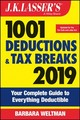 J.k. Lasser's 1001 Deductions And Tax Breaks 2019 - Weltman, Barbara - ISBN: 9781119521587