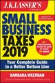 J.k. Lasser's Small Business Taxes 2019 - Weltman, Barbara - ISBN: 9781119511540