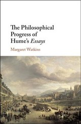 Philosophical Progress Of Hume's Essays - Watkins, Margaret - ISBN: 9781108476270
