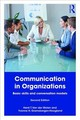 Communication In Organizations - Gramsbergen-Hoogland, Yvonne; Van Der Molen, Henk T. - ISBN: 9781138552128