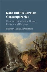 Kant And His German Contemporaries - Dahlstrom, Daniel O. (EDT) - ISBN: 9781107178168