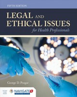 Legal And Ethical Issues For Health Professionals - Pozgar, George D. - ISBN: 9781284144185
