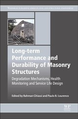 Long-term Performance And Durability Of Masonry Structures - ISBN: 9780081021101