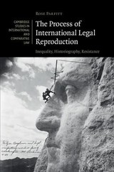 Cambridge Studies In International And Comparative Law - Parfitt, Rose (kent Law School, University Of Kent) - ISBN: 9781316515198