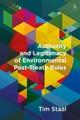 Authority And Legitimacy Of Environmental Post-treaty Rules - Staal, Tim - ISBN: 9781509925568
