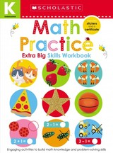 Math Practice Kindergarten Workbook: Scholastic Early Learners (extra Big Skills Workbook) - Learners, Scholastic Early - ISBN: 9781338531886