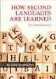 How Second Languages Are Learned - Hawkins, Roger (university Of Essex) - ISBN: 9781108468435