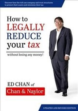 How To Legally Reduce Your Tax - Chan, Edward - ISBN: 9780648258308