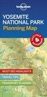 Lonely Planet Yosemite National Park Planning Map - Lonely Planet Publications (COR) - ISBN: 9781788686150
