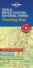 Lonely Planet Zion & Bryce Canyon National Parks Planning Map - Lonely Planet Publications (COR) - ISBN: 9781788686167