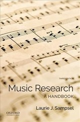 Music Research - Sampsel, Laurie (professor And Faculty Director, Professor And Faculty Director, University Of Colorado At Boulder) - ISBN: 9780190644505