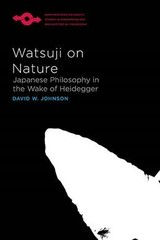 Watsuji On Nature - Johnson, David W. - ISBN: 9780810140479