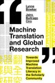Machine Translation And Global Research - Bowker, Lynne; Buitrago Ciro, Jairo - ISBN: 9781787567221