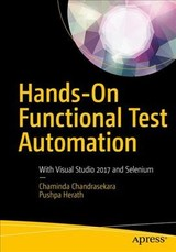 Hands-on Functional Test Automation - Herath, Pushpa; Chandrasekara, Chaminda - ISBN: 9781484244104