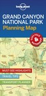 Lonely Planet Grand Canyon National Park Planning Map - Lonely Planet Publications (COR) - ISBN: 9781788685948