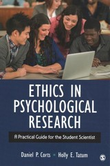 Ethics In Psychological Research - Tatum, Holly E. (elizabeth); Corts, Daniel Paul - ISBN: 9781506350004