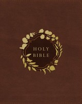 Niv, Our Family Story Bible, Leathersoft Over Board, Brown, Red Letter Edition, Comfort Print - (NA) - ISBN: 9780310454144