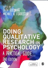 Doing Qualitative Research In Psychology - Sullivan, Cath (EDT)/ Forrester, Michael A. (EDT) - ISBN: 9781526402783