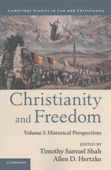 Christianity And Freedom: Volume 1, Historical Perspectives - ISBN: 9781107561830