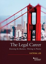 Legal Career - Lee, Katrina - ISBN: 9781634599139