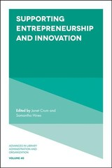 Supporting Entrepreneurship And Innovation - Crum, Janet A. (EDT)/ Hines, Samantha Schmehl (EDT) - ISBN: 9781789732061