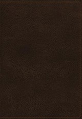 Nkjv Study Bible, Premium Calfskin Leather, Brown, Full-color, Thumb Indexed, Comfort Print - Thomas Nelson - ISBN: 9780785220718