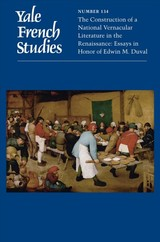 Yale French Studies, Number 134 - Devos, Jessica (EDT)/ Hayes, Bruce (EDT) - ISBN: 9780300235999